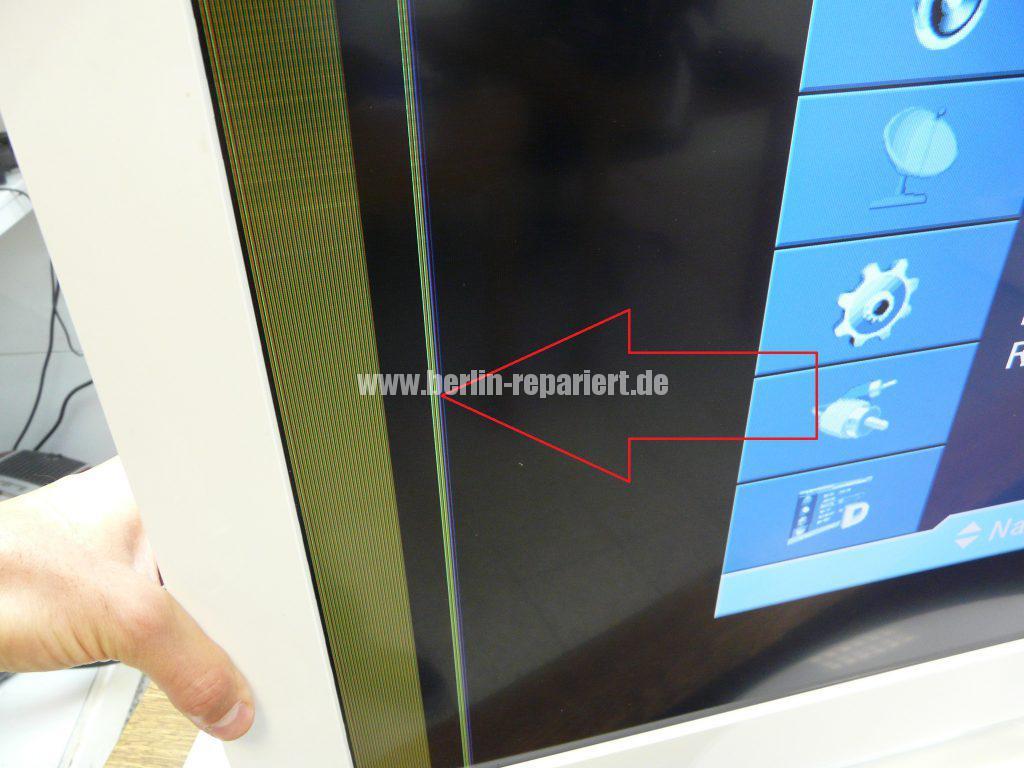Samsung LE40A455, Display Streifen, Display Reparieren (3)