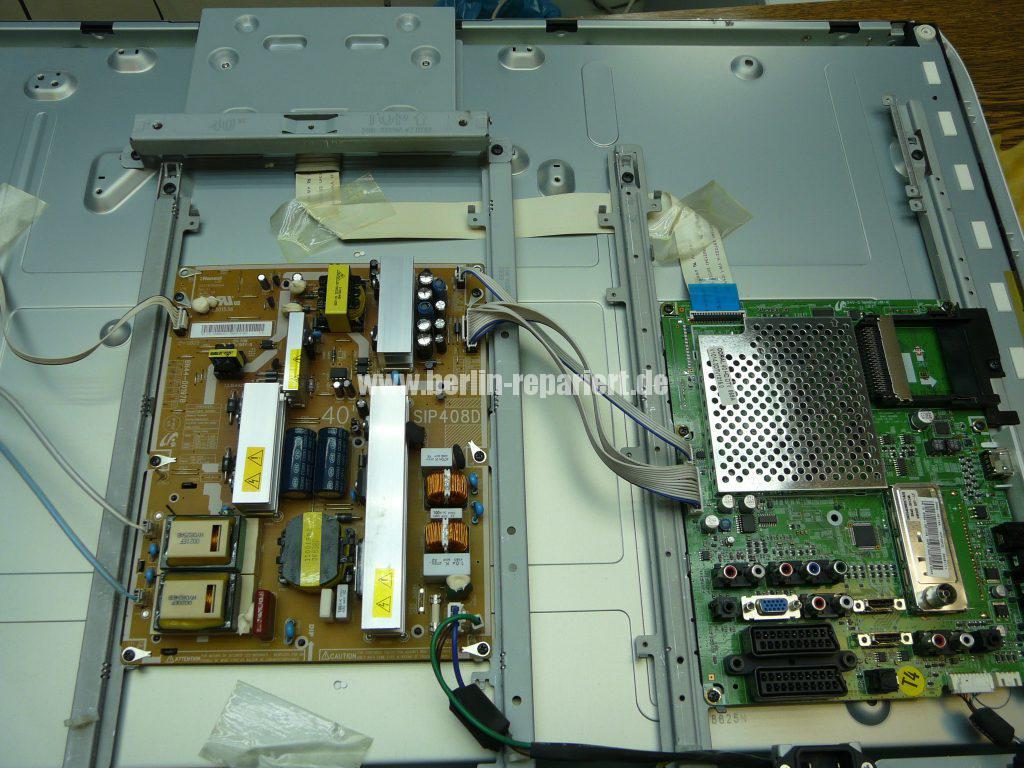 Samsung LE40A455, Display Streifen, Display Reparieren (5)