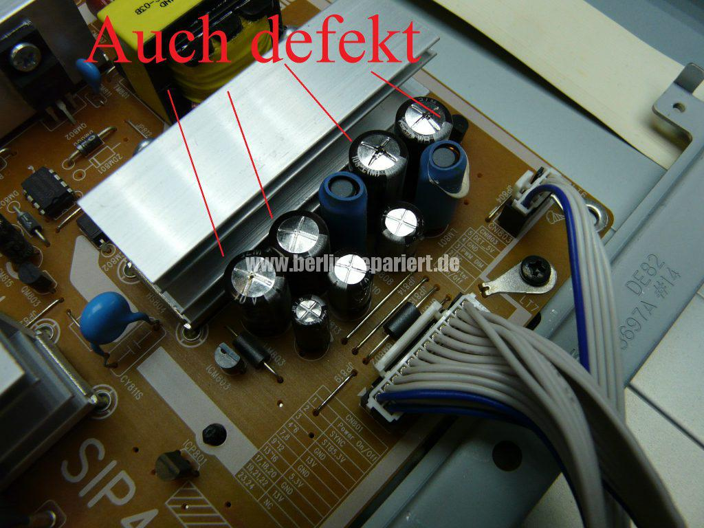 Samsung LE40A455, Display Streifen, Display Reparieren (6)