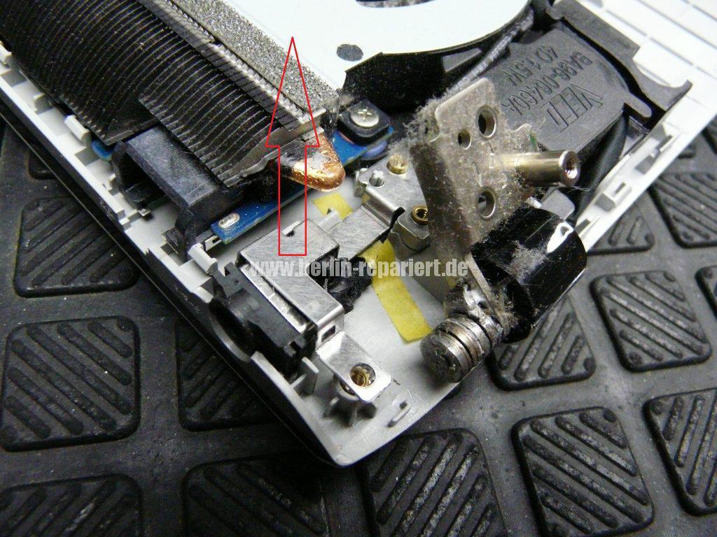 Samsung NP300E5E, keine Funktion, der Akku wird nicht geladen, Netzbuchse defekt (6)