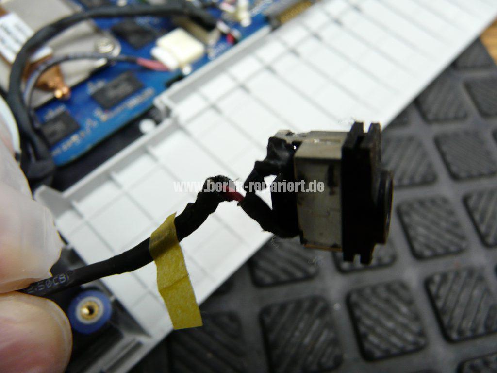 Samsung NP300E5E, keine Funktion, der Akku wird nicht geladen, Netzbuchse defekt (8)