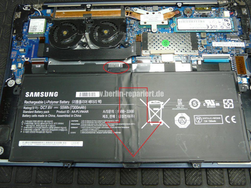 Samsung NP900x, Akku wird nicht geladen (5)