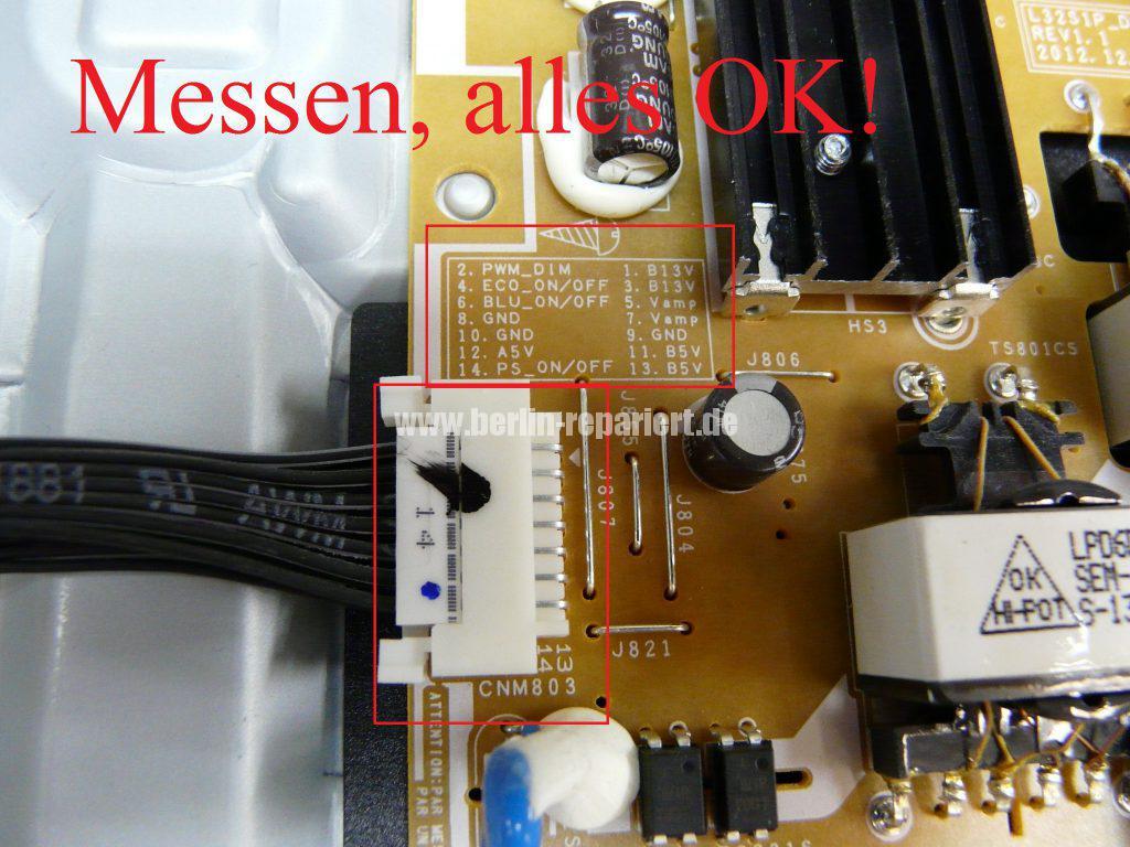 Samsung UE32F5070, Stby Blinkt (7)