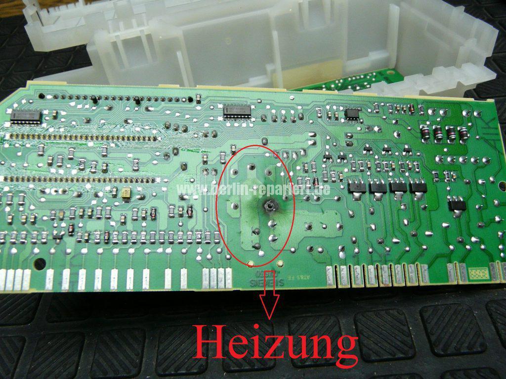 Siemens 5WK5709, heizt nicht (3)