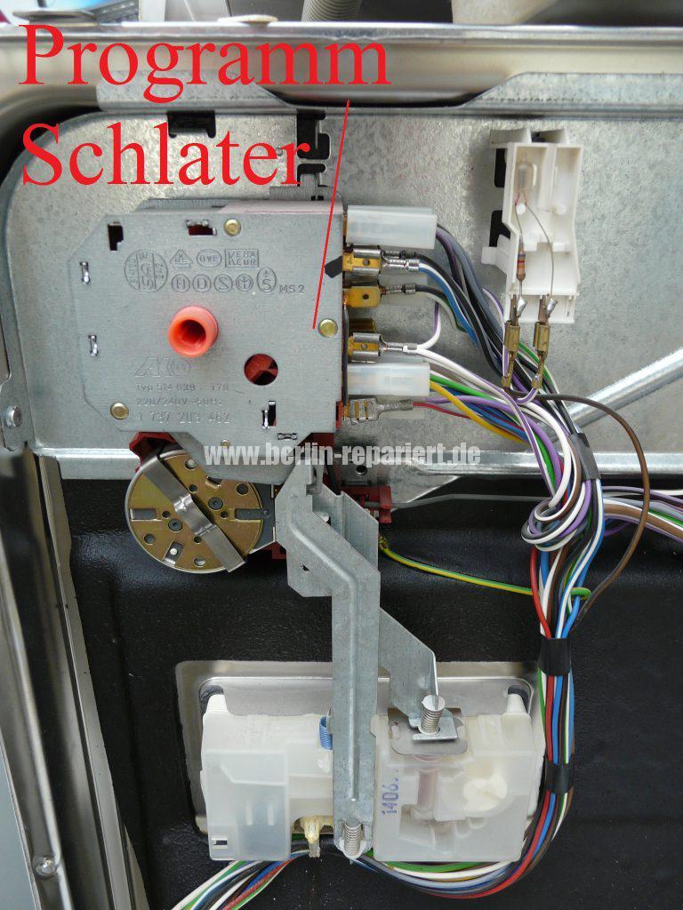 Siemens Lady Plus SN25102, Türschalter defekt (3)