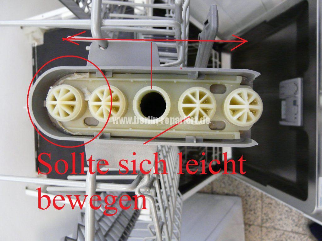 Siemens SM25M, Wäscht nicht richtig oben (2)