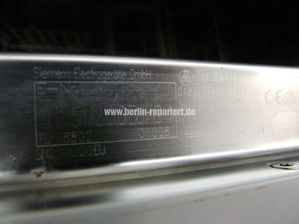 Siemens SM25M, Wäscht nicht richtig oben (3)