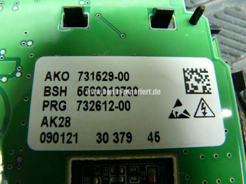 Siemens Wash & Dry, AKO 731529-00, Display dunkel (5)
