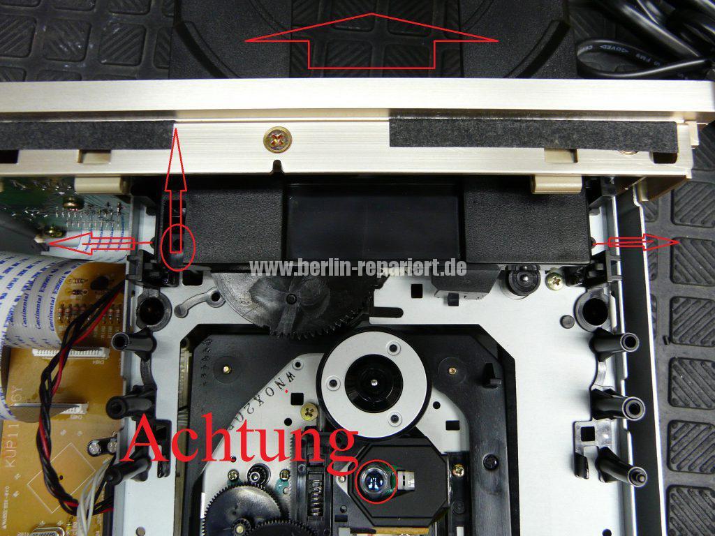 TEAC PD-H300C, CD Fach geht nicht auf (3)