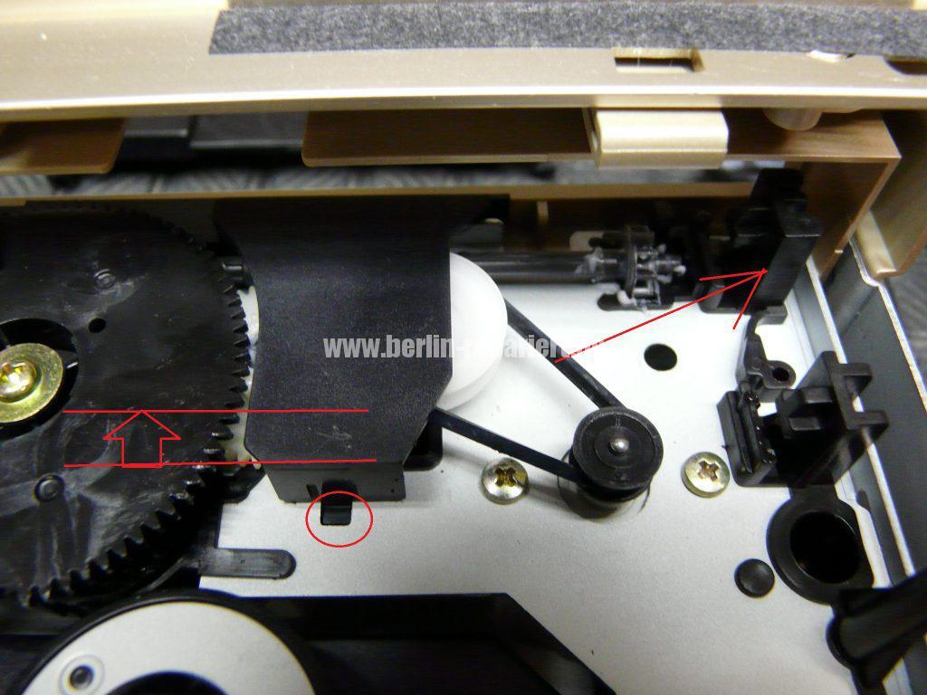 TEAC PD-H300C, CD Fach geht nicht auf (4)