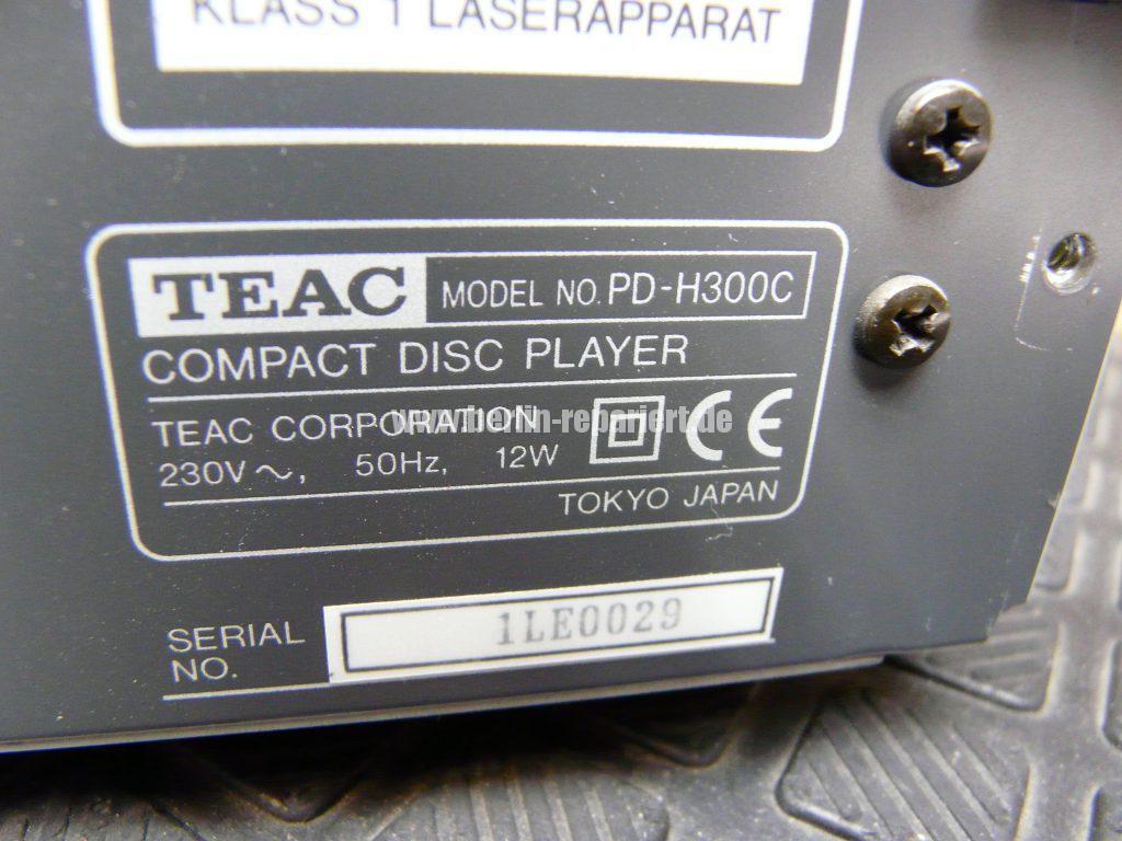 TEAC PD-H300C, CD Fach geht nicht auf (5)