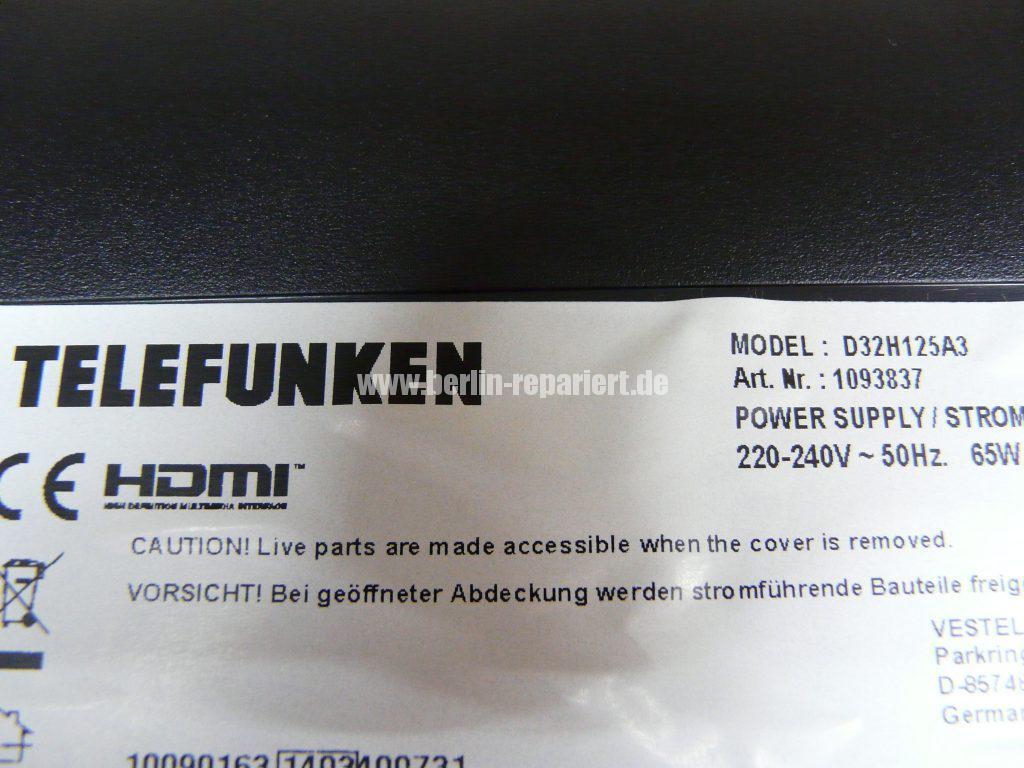 Telefunken D32H125A3, keine Funktion (8)