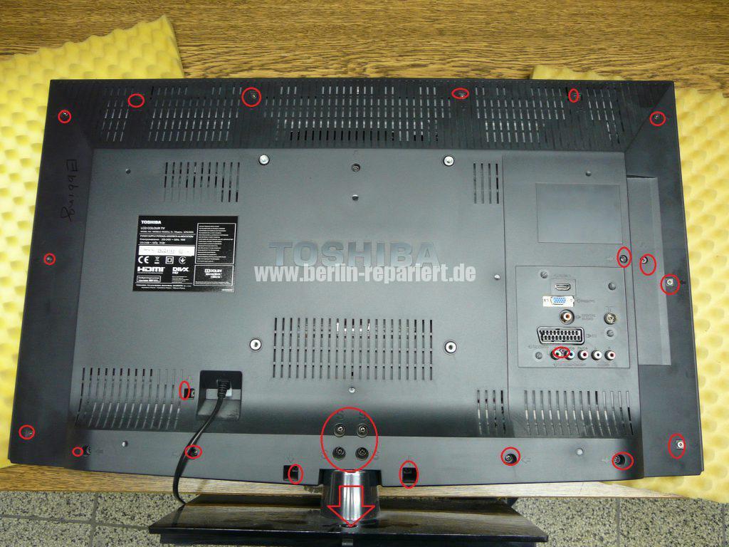 Toshiba 32HL933G, nur Stby schaltet nicht ein (2)
