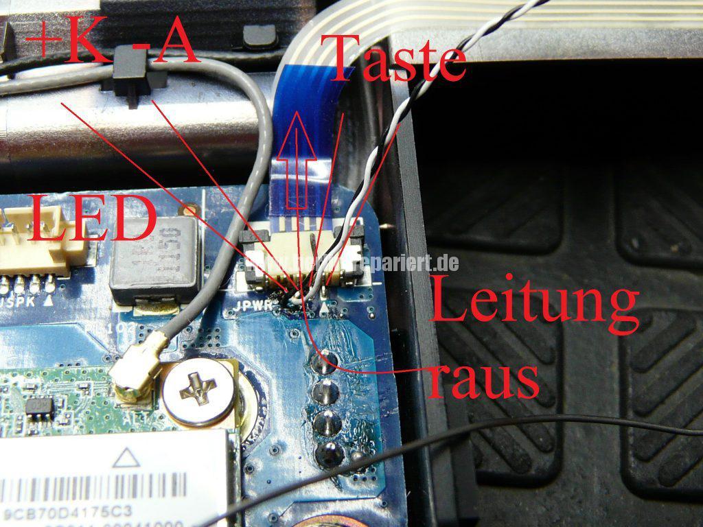 ASUS X93S, kann nicht mehr eingeschaltet werden, Power LED leuchtet (21)
