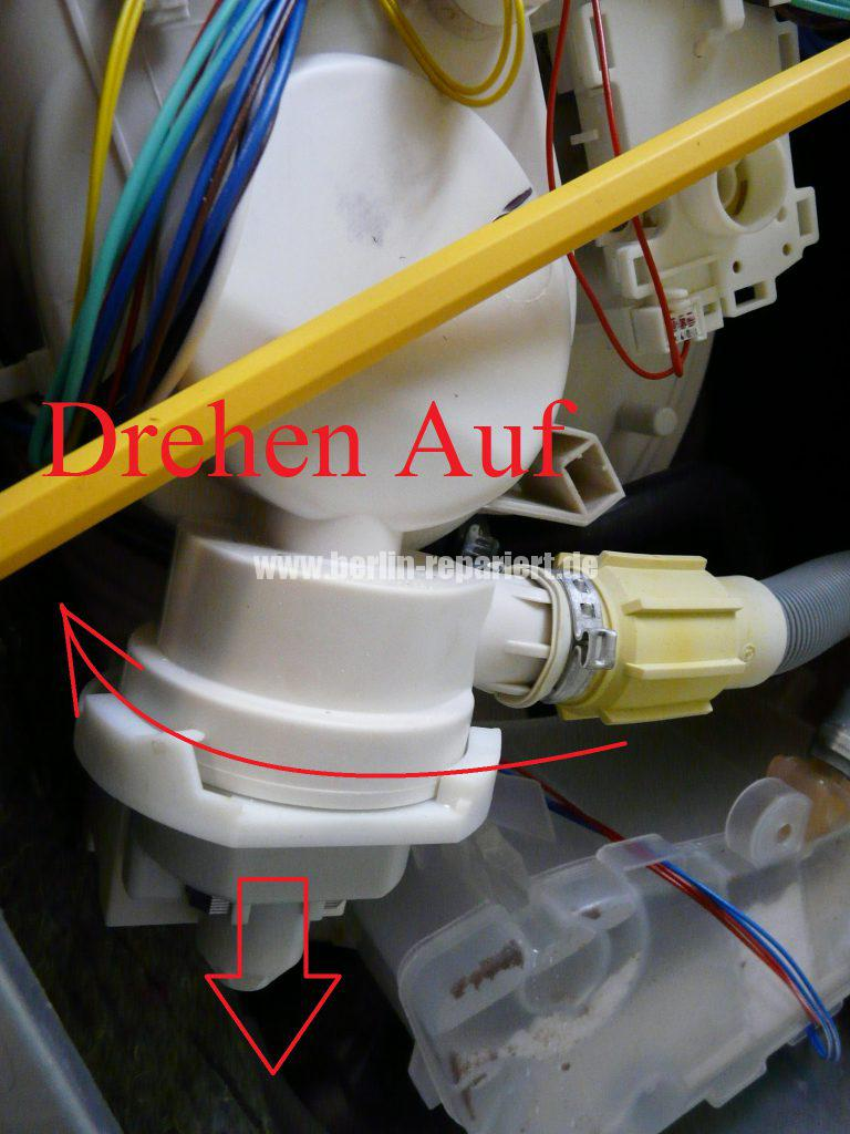 Bauknecht FSXS 4000, Pumpt nicht ab (4)