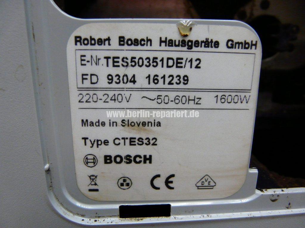 Bosch CTES32, verliert Wasser, Schalter setzt aus (14)