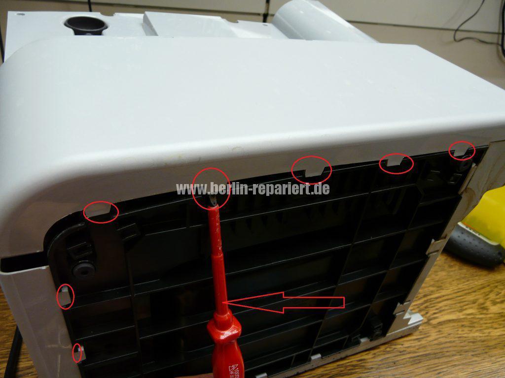 Bosch CTES32, verliert Wasser, Schalter setzt aus (6)
