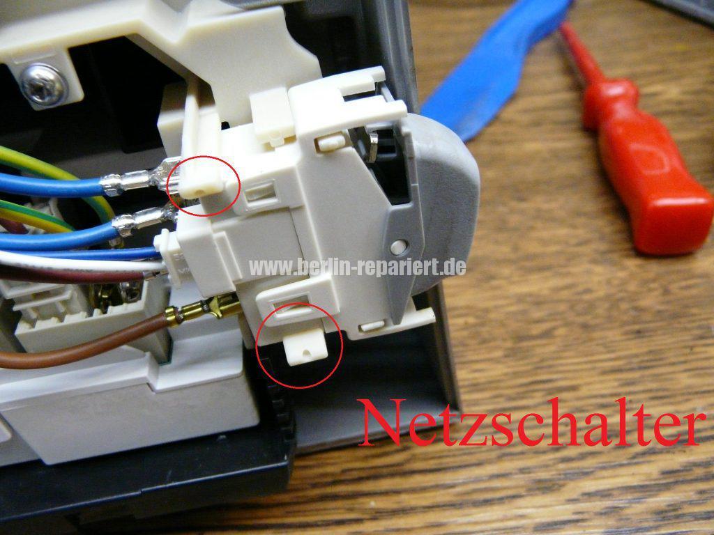 Bosch CTES32, verliert Wasser, Schalter setzt aus (8)