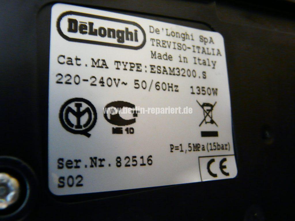 DeLonghi ESAM3200, LED blinken sonst nichts (9)
