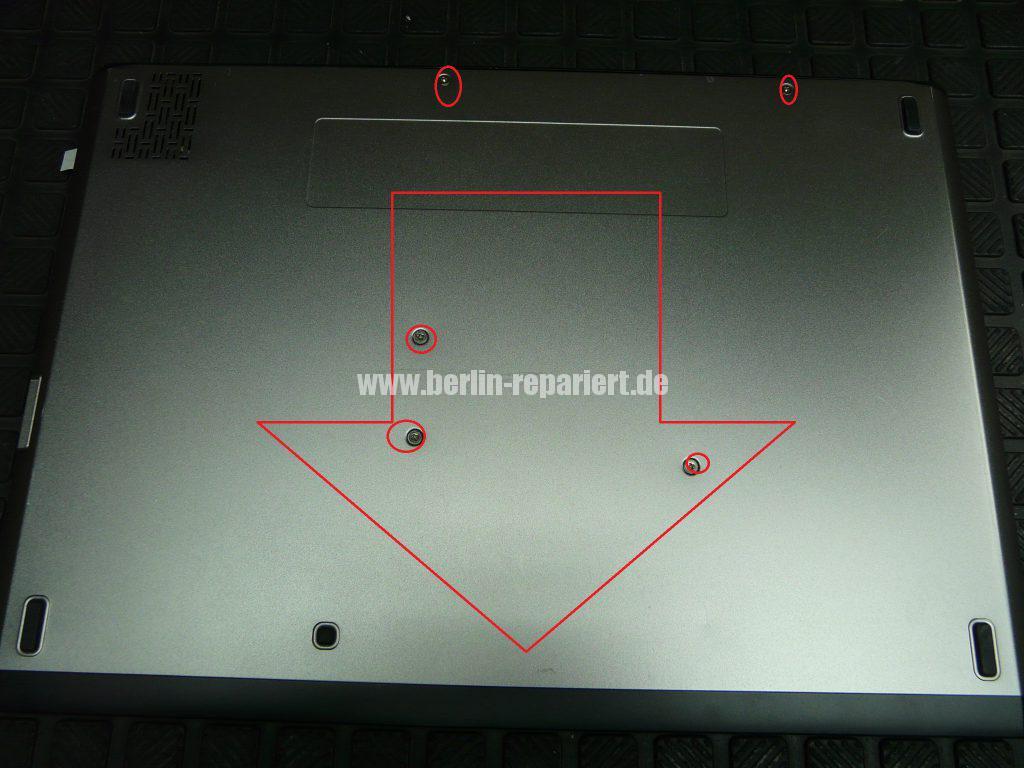 Dell Vostro V130, geht nicht an nach Akku tausch (2)