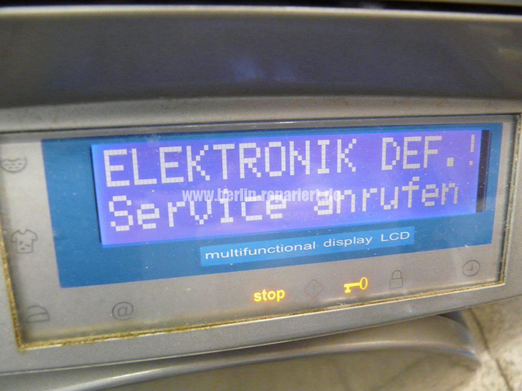 Fagor 1F-4613X, Elektronik Def. Service anrufen (2)