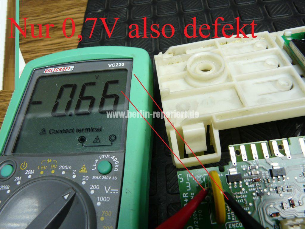 Fagor 1F-4613X, Elektronik Def. Service anrufen (5)