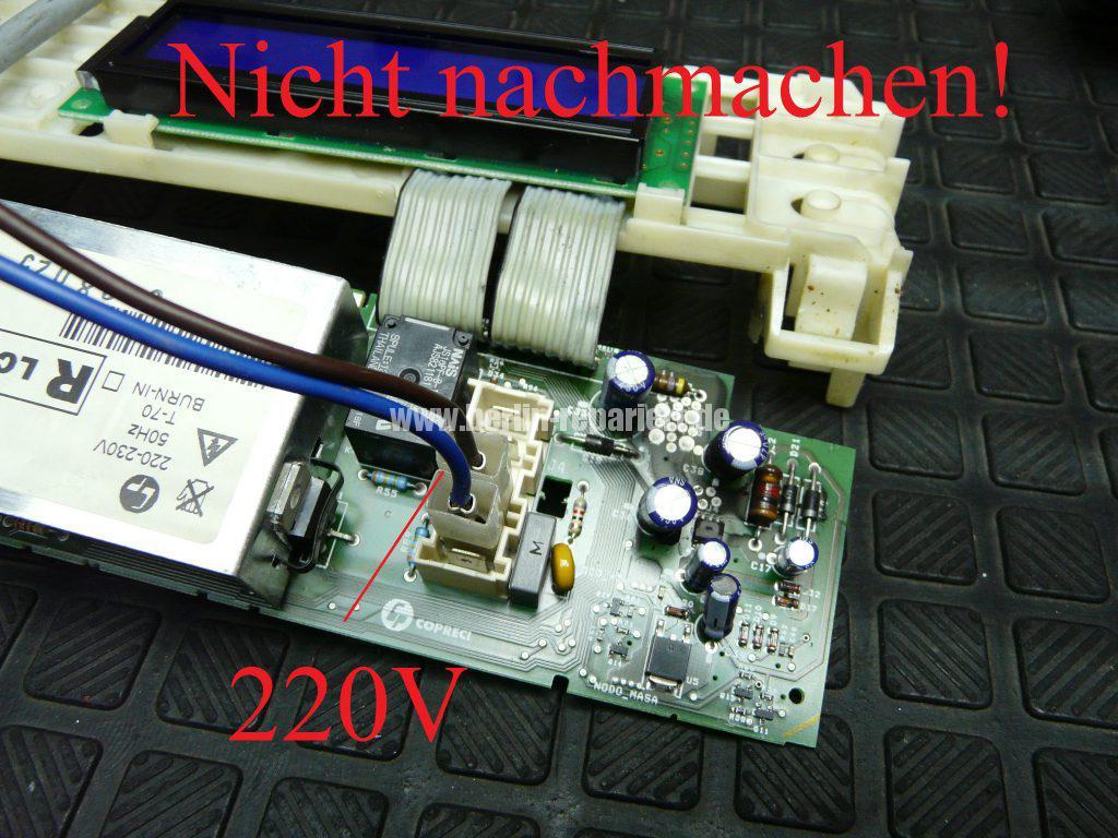 Fagor 1F-4613X, Elektronik Def. Service anrufen (7)