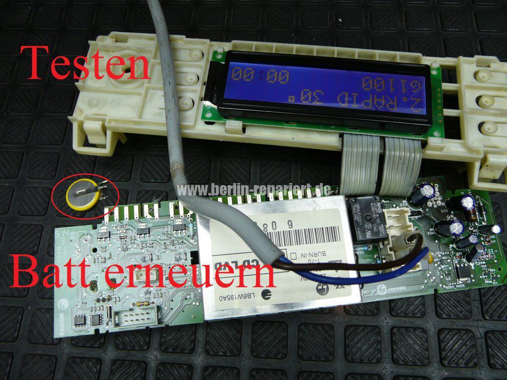 Fagor 1F-4613X, Elektronik Def. Service anrufen (8)