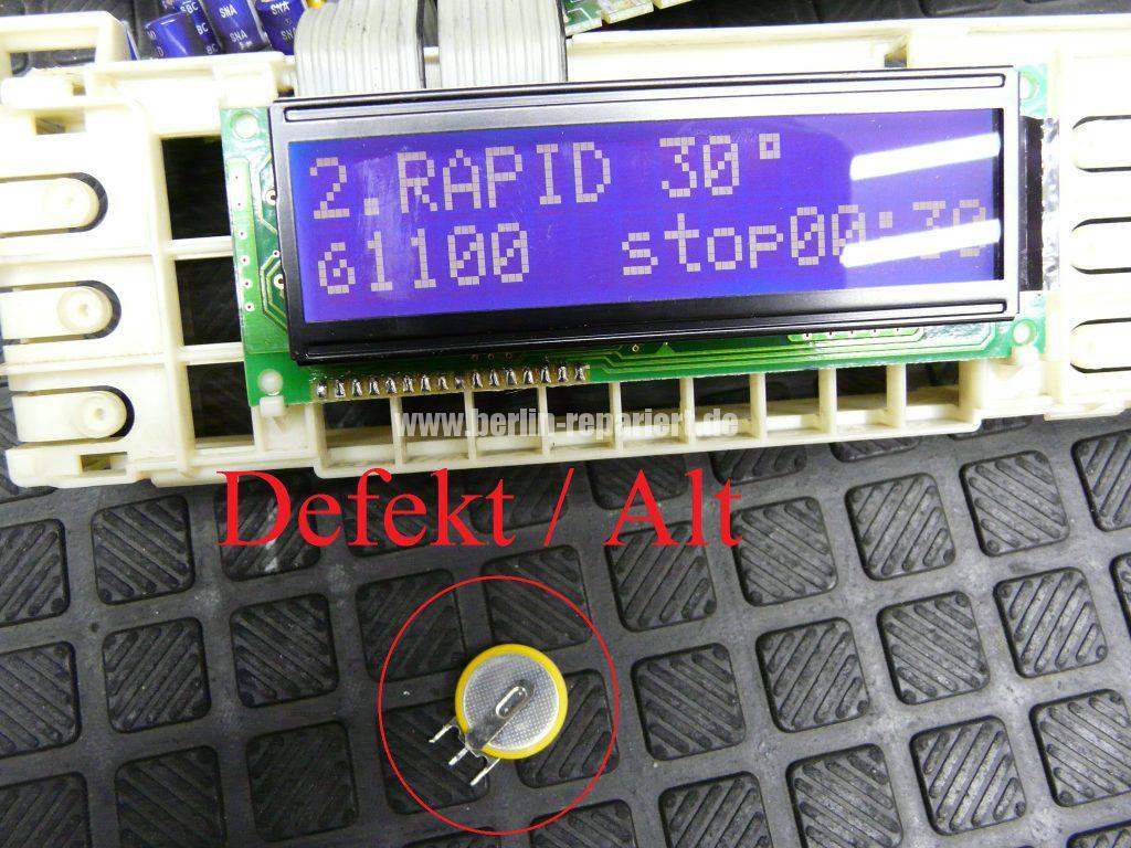Fagor 1F-4613X, Elektronik Def. Service anrufen (9)