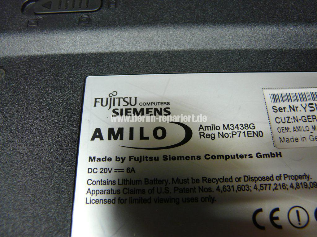 Fujitsu Siemens Amilo M3438G, kein Bild (7)
