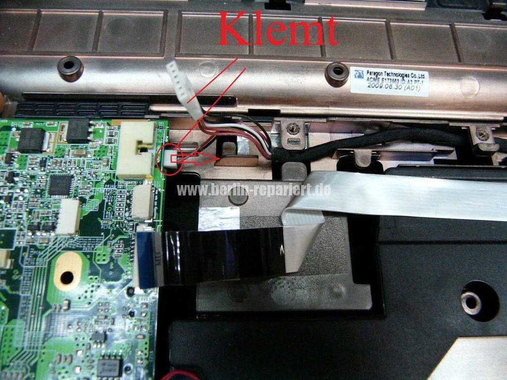 HP DV7, Lüfter Geräusche, Lüfter austauschen  (12)