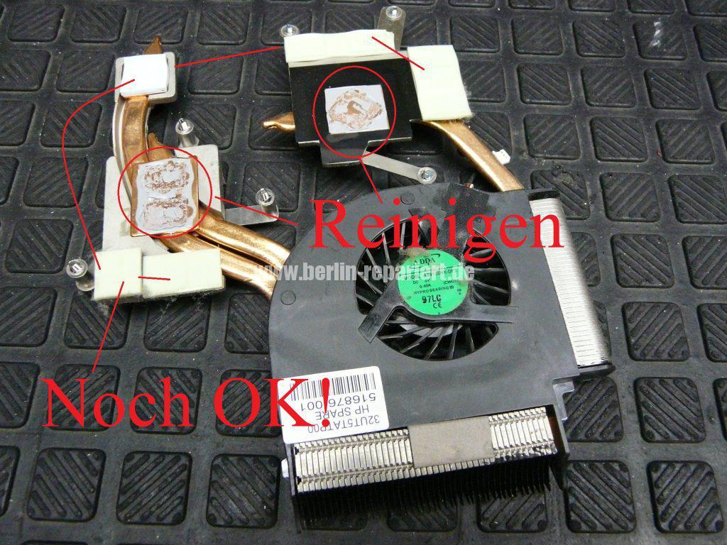 HP DV7, Lüfter Geräusche, Lüfter austauschen  (15)