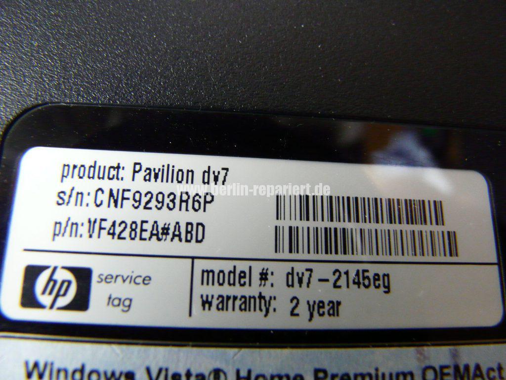 HP DV7, Lüfter Geräusche, Lüfter austauschen  (18)