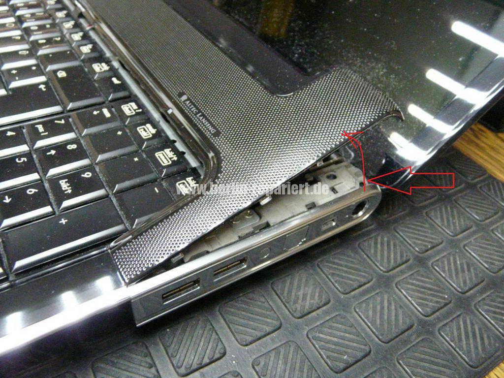 HP DV7, Lüfter Geräusche, Lüfter austauschen  (5)