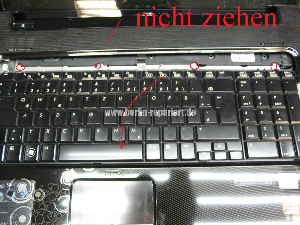 HP DV7, Lüfter Geräusche, Lüfter austauschen  (6)