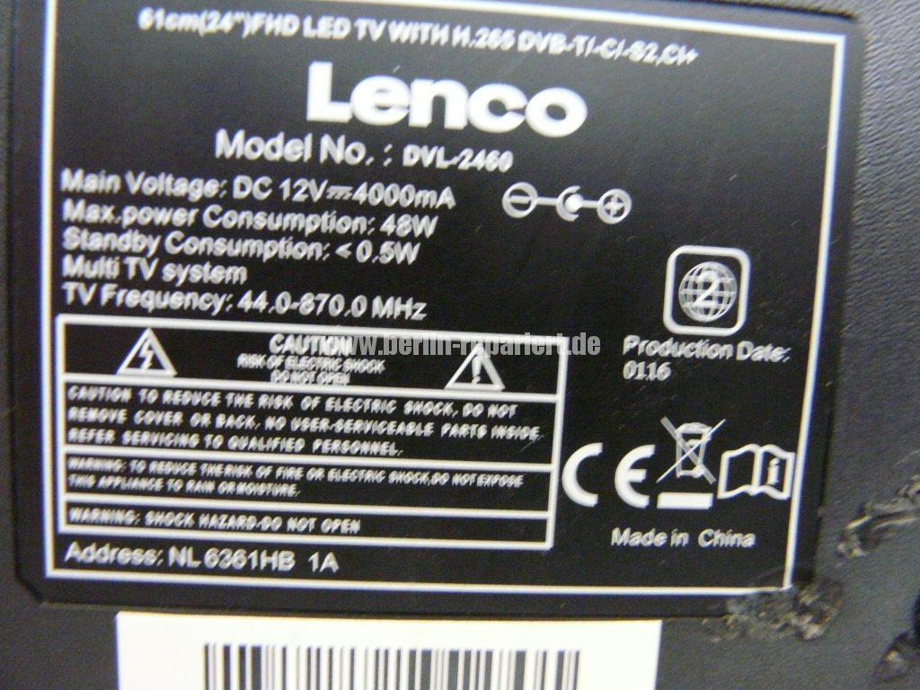 Lenco DVL-2460, keine Funktion (10)