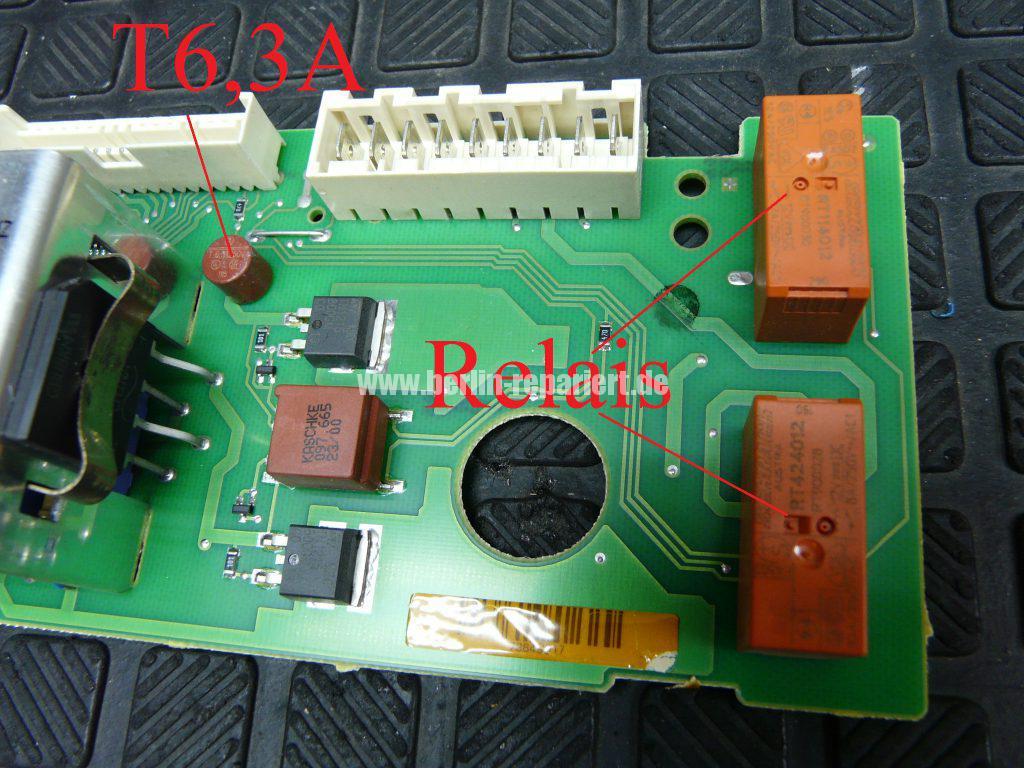 Miele Novotronic W872, Motor dreht sehr schnell (3)