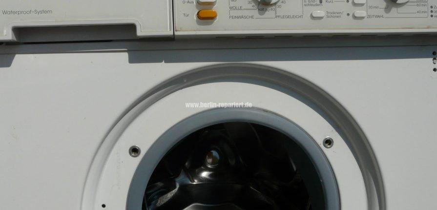 fehler waterproof miele waschmaschine