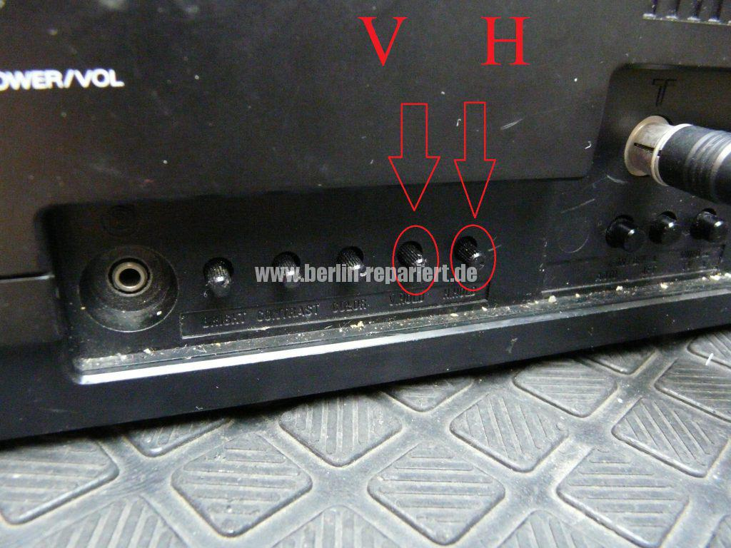 ORION CTV-5X, nur noch streifen kein Ton (4)