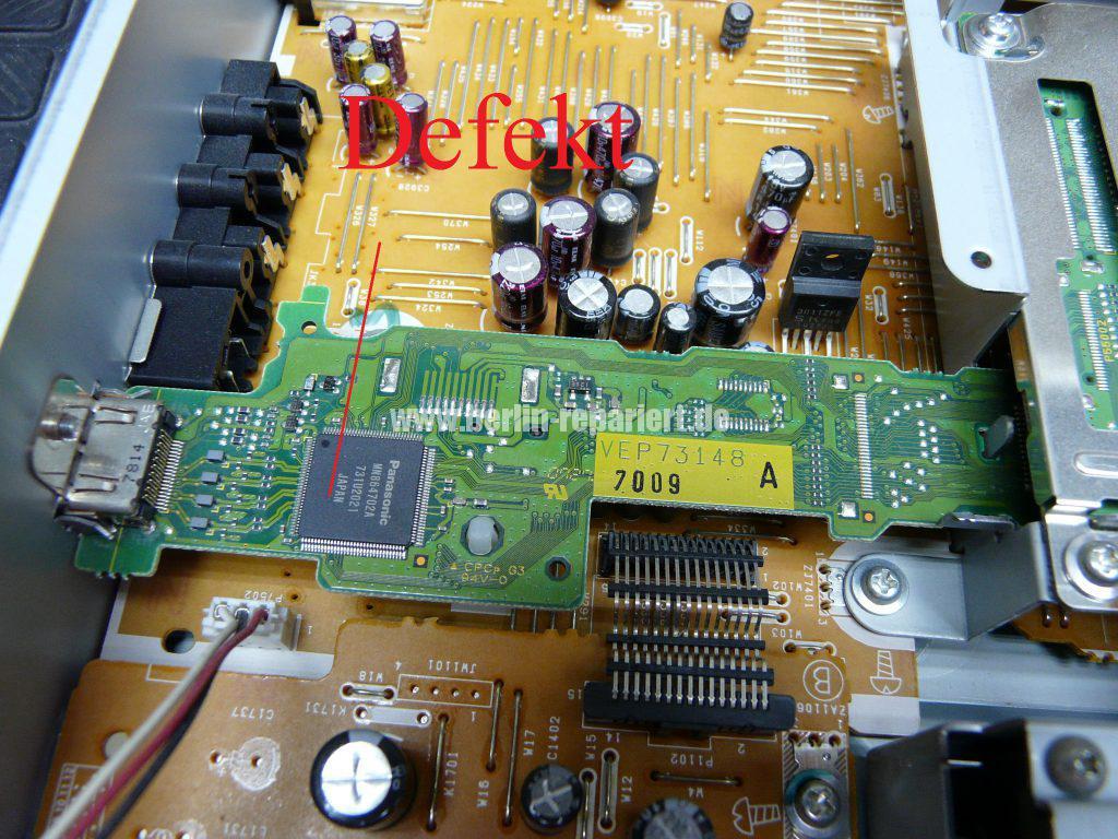 Panasonic DMR-EH575EG, Ton verzerrt über HDMI (4)