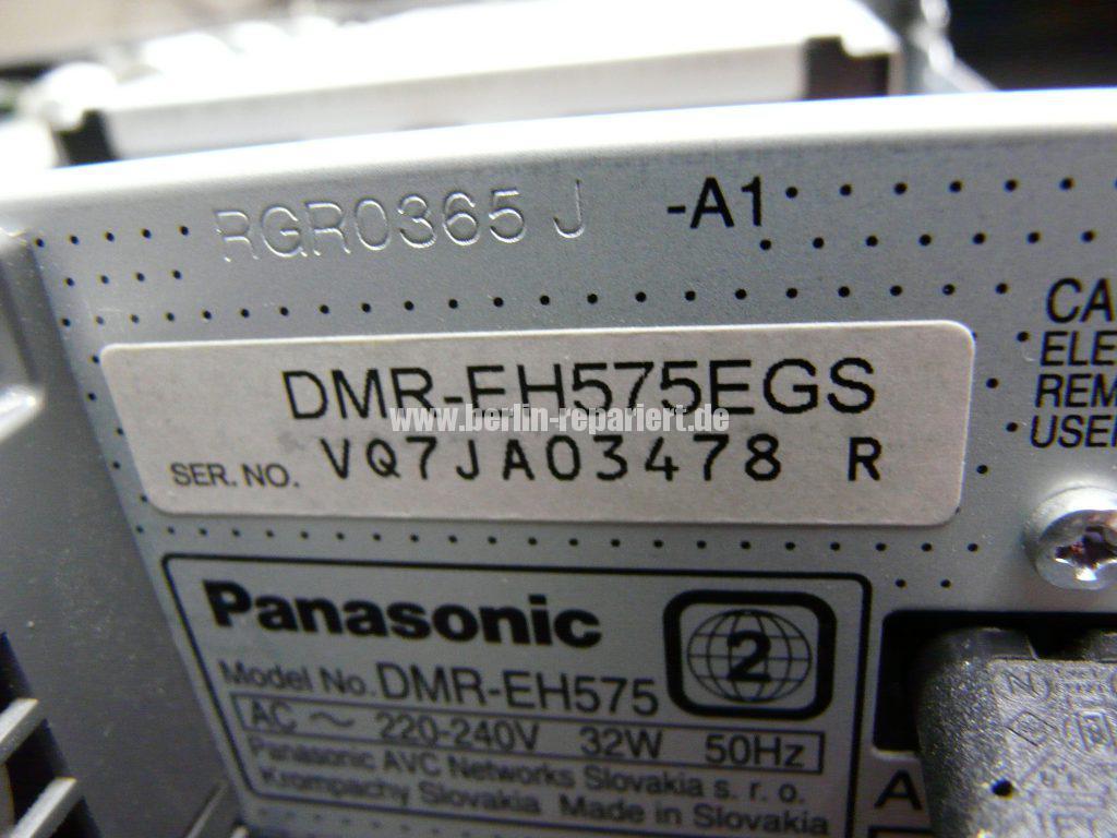 Panasonic DMR-EH575EG, Ton verzerrt über HDMI (5)