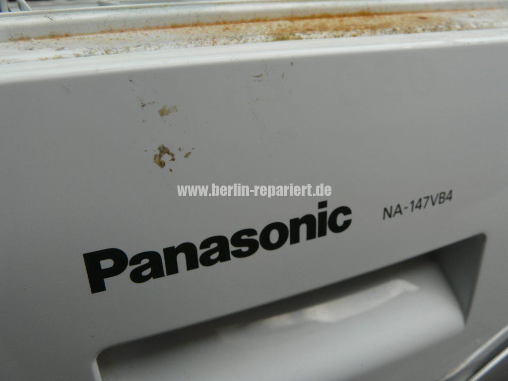 Panasonic NA-147, sehr laut beim Schleudern (2)