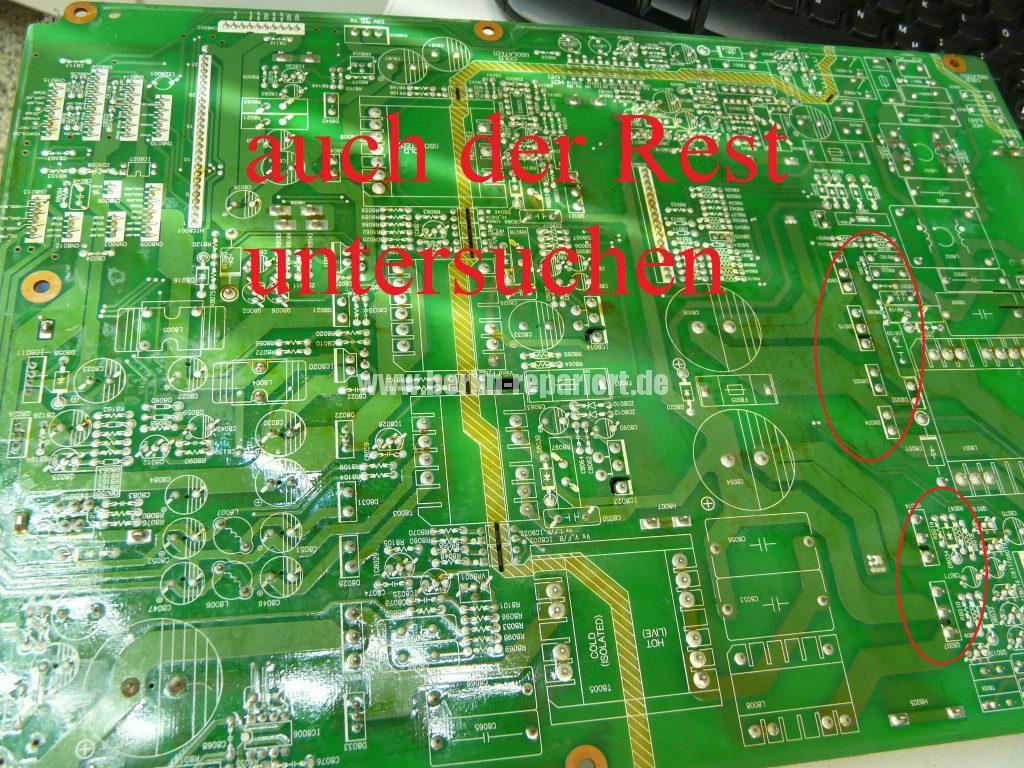 Philips 50PFP5532D12, kein Bild Ton, Schwarze Flecken in Bild (11)