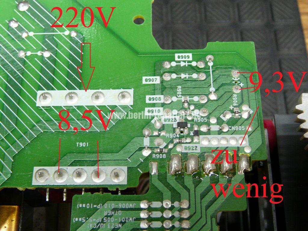 SONY HCD-NEZ5 CMT-NEZ5, geht nicht an (5)
