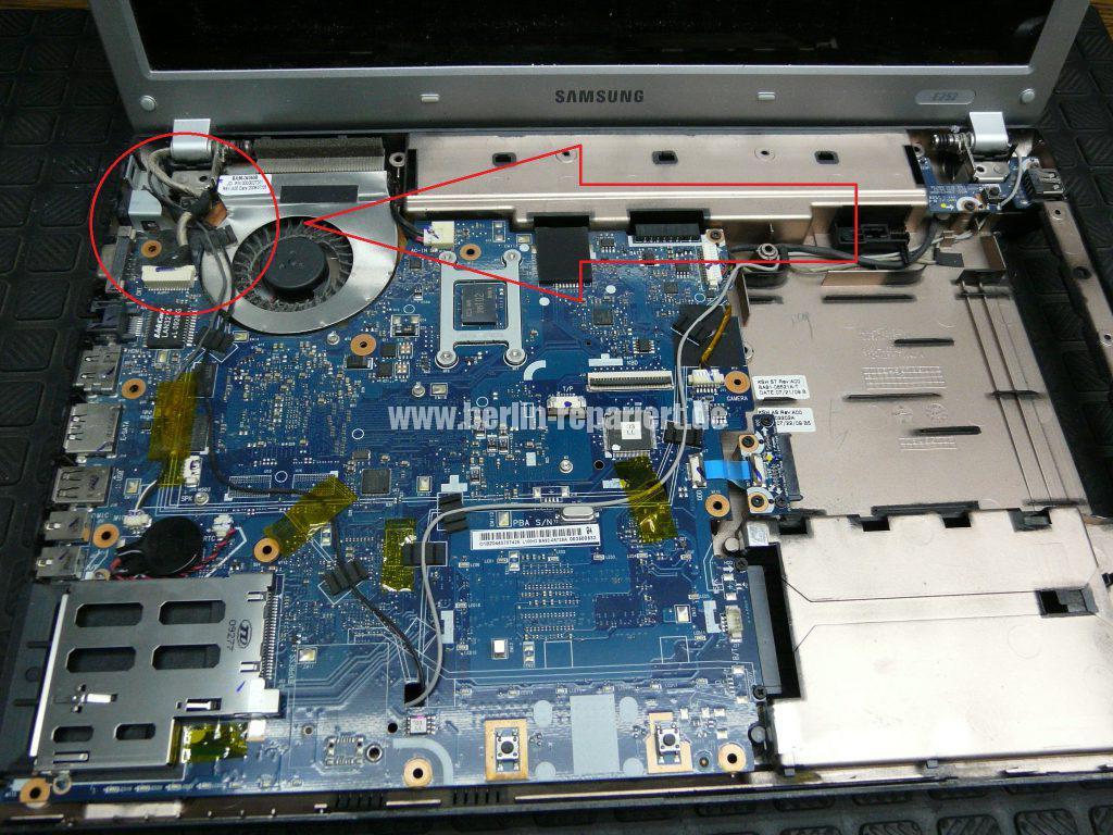 Samsung E252, Netzbuchse Defekt (2)