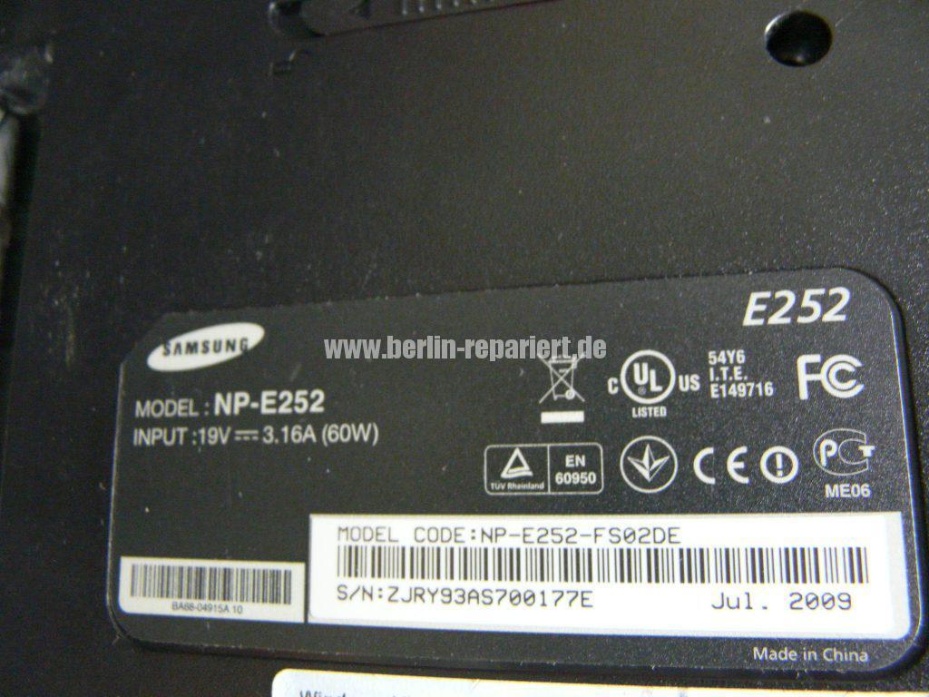 Samsung E252, Netzbuchse Defekt (7)