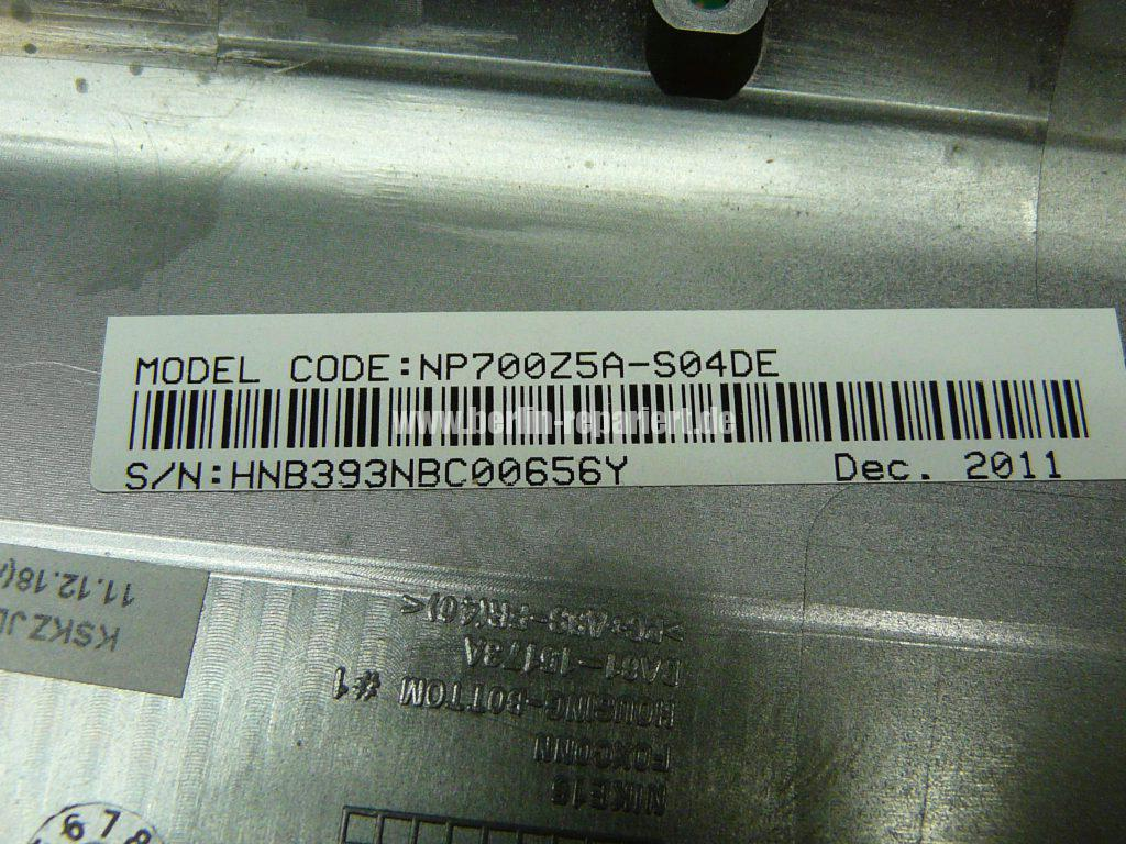 Samsung NP700Z, Akku schwach (8)