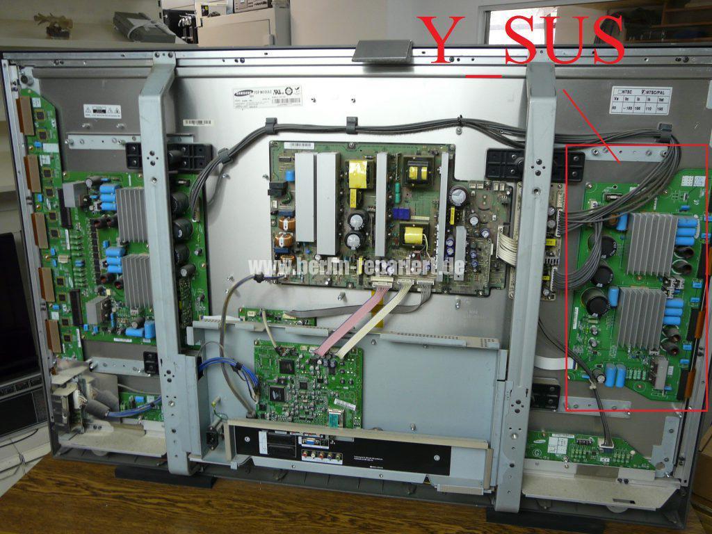 Samsung PS50C7H, kein Bild nur Ton (13)