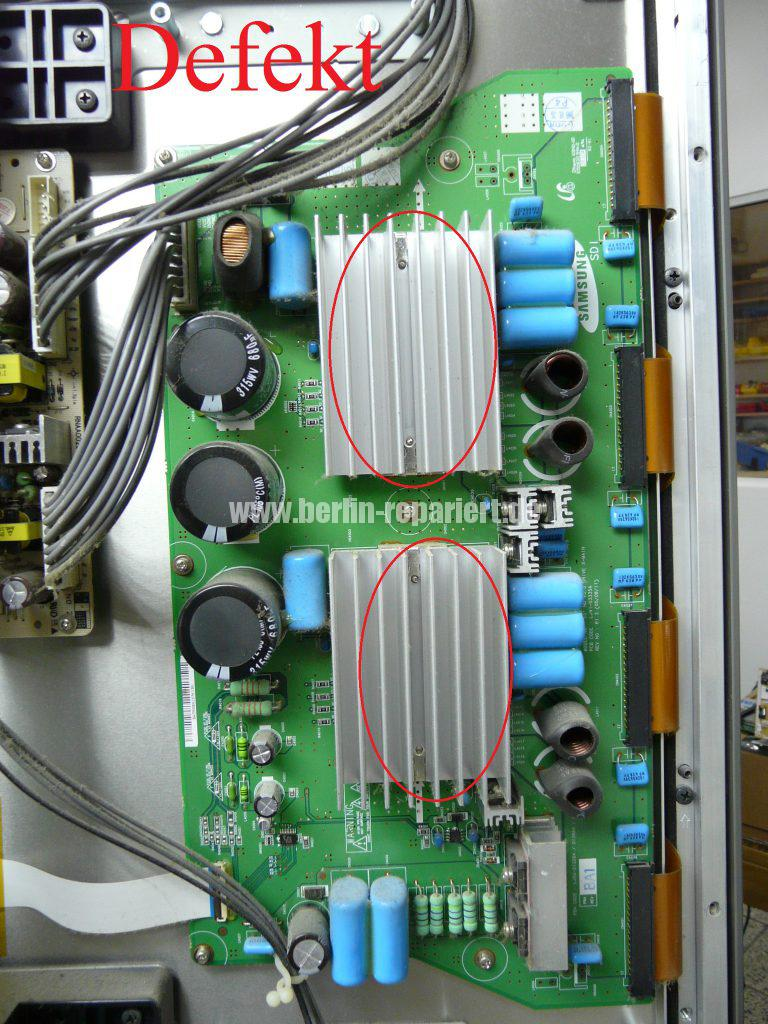 Samsung PS50C7H, kein Bild nur Ton (17)