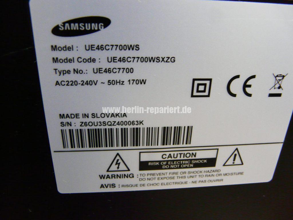 Samsung UE46C7700WS, Antennenbuchse defekt (16)
